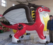 Customization!!! PVC Inflatable dragon/red/oxford inflatable dragon/flying inflatable dragon for advertising promotion/3M W617