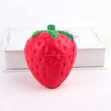 Slow Rising Squishy Strawberry Cream Scented Doll Toy