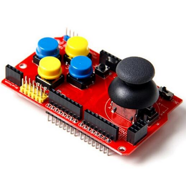 Gamepads JoyStick Keypad Shield NRF24L01 NK 5110 LCD 12C