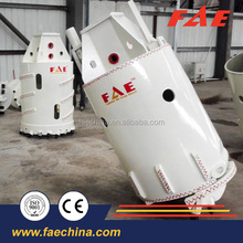 FAE rotary drilling rig rock bucket for piling,concrete buckets for sale