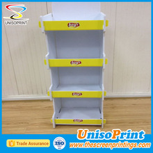 Display Stand Corrugated Pop Up Cardboard Display Stand Hollow Plate Display
