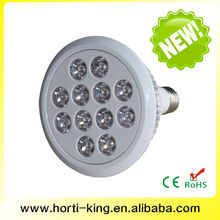 Full spectrum led grow lights, High quality LED lamp, PAR38 12W led light