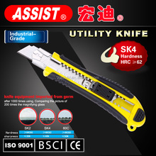 Long use time fashionable practical safety utility knife blade with SK4 material 18mm cold steel blade