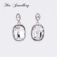Her Jewellery wholesale Elegance stub earring for women Embellished with Crystal from Swarovski HSE0079