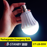 5w Energy save led lighting with rechargeable battery