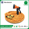 2016 New product best selling Patented expandable garden Hose with brass fitting for car washing