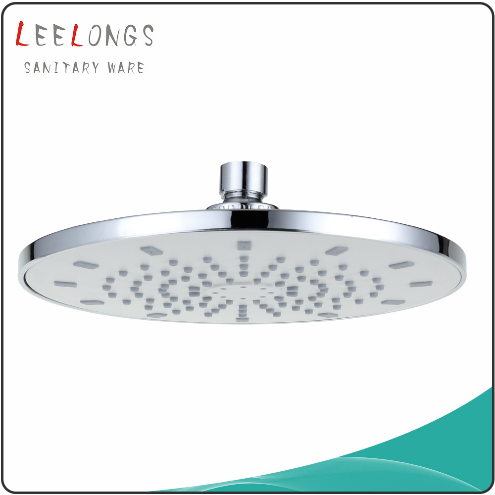 SH-3580 Leelongs ABS Plastic Chromed Overhead 8 Inch Top Shower Head