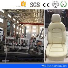 Top quality pu car fabric cleaner seat foaming production line