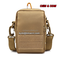 TACTICAL MILITARY OUTDOOR MOLLE WAIST BAG PACK PURSE MOBILE PHONE CASE 600D