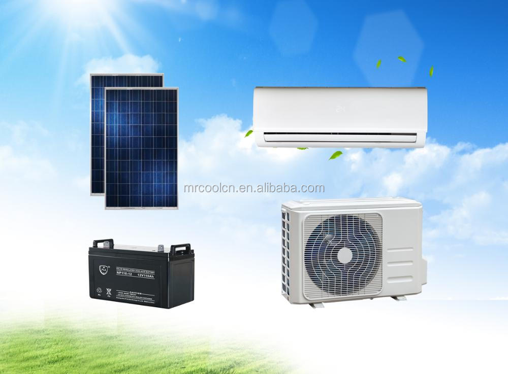 100% Solar DC 48V Inverter Air Conditioner 12000btu (Seasonal Promotion) with 5 years warranty