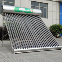 most efficient stainless steel compact non pressure solar heater water, solar thermal theating system