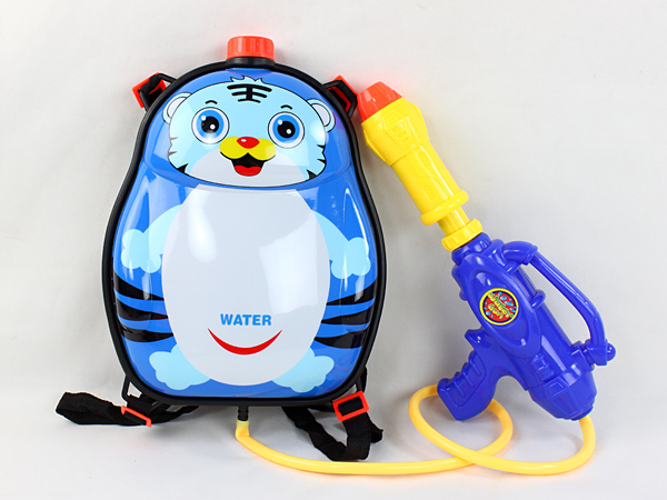 Hot Sell Plastic Water Gun With Tiger Design Bag ,Summer Toy Water Gun With Bag,Cartoon Water Gun Toy For Kids