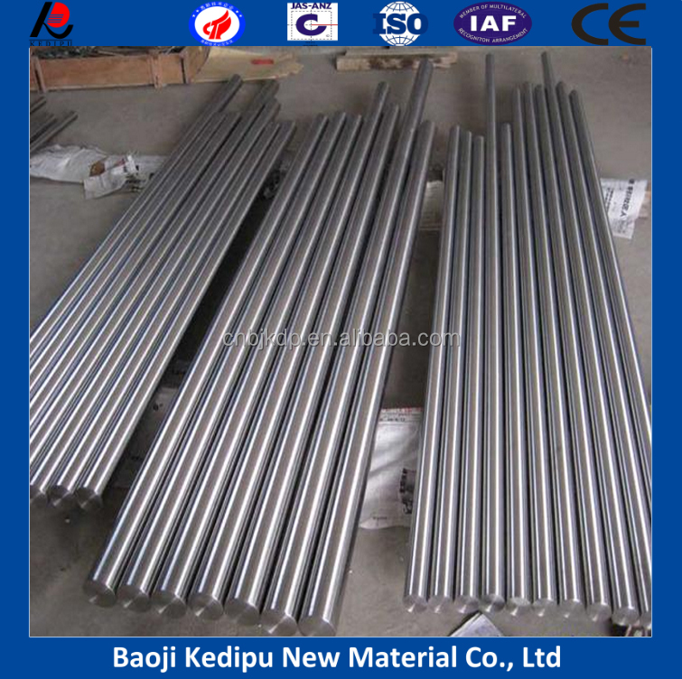 99.95% Niobium bar/rod for Niobium alloys from Baoji Kedipu
