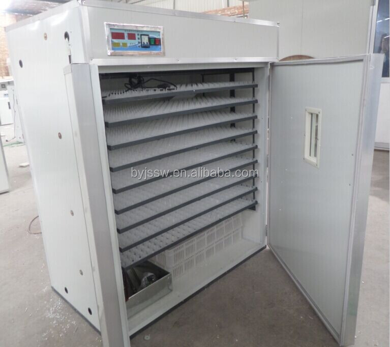Poultry equipments egg hatching machine the incubator