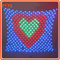 Wholesale party and wedding decoration led peacock light