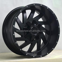 item 388 wheel rims 20 22 24 inch matte black off road american design big size aluminium alloy wheels for suv atv wheels