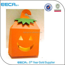 Hot sale make steps to make a pumpkin paper box template maker cut out in China