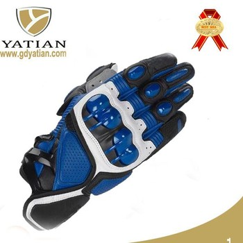 special design protection leather motor bike driving gloves