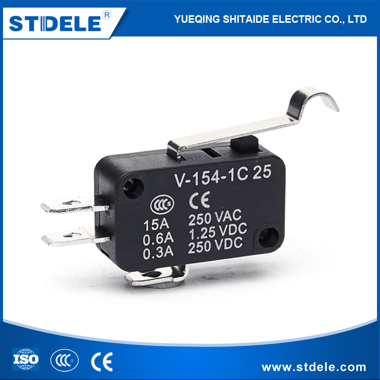 supply IP65 250V AC magnetic Micro selector Switch rohs vde roller lever made in Wenzhou Factory