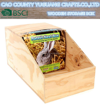Wooden Nest Box for Chickens & Rabbits