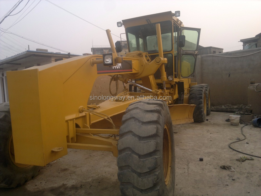 Best selling used 140 H motor graders for sale/Bottom price and high quality