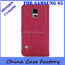 Royal Quality S5 Leather Flip Case For Samsung S5 i9600