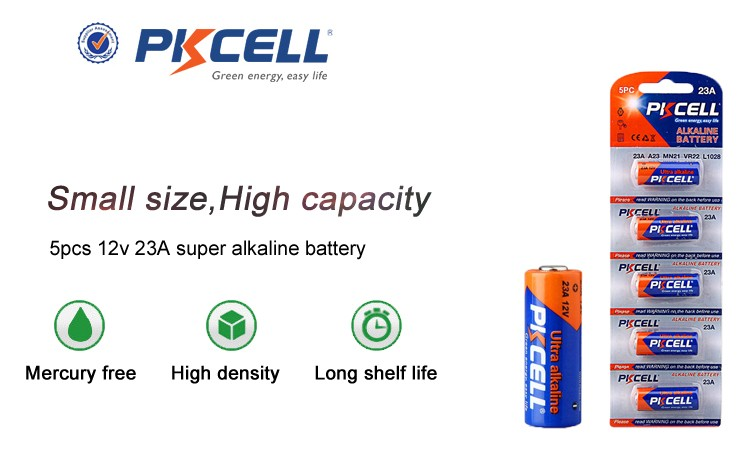 Alibaba Best Selling 12v Non Rechargeable Battery 23a a23 MN21 lr23a L1028 Alkaline Button Battery for Wireless Doorbell