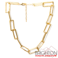 Artificial Gold Chain Imitation Necklace N6-4401-4400