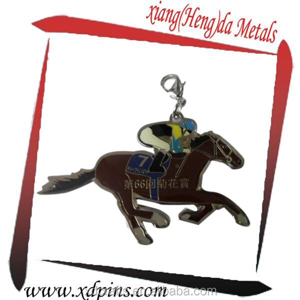 China machine to make custom key chains for horse racing souvenir