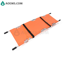 First Aid Supplies Lifesaving Medical Rescue Lightweight Foldaway Stretcher