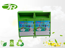 Powder coating Metal clothing bin box