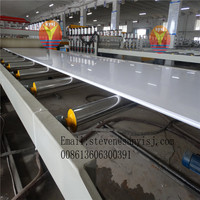 sheet extrusion line/pvc celuka foam board line