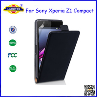 For Sony Xperia Z1 Compact Flip Leather Case