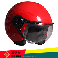 woman vespa half face helmet OF625