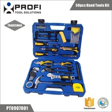 50pcs office and house repairing hand tool sets in blow case