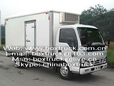 isuzu thermo king refrigerator truck for sale