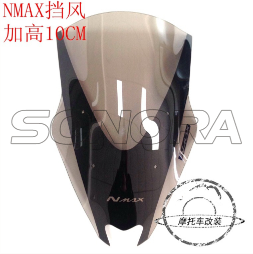 N-MAX for YAMAHA Windshield 10MM HIGHER type 2