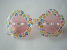 Colorful plastic dance party glasses, funny party glasses