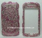 back and front bling cover case for Google My Touch 4G