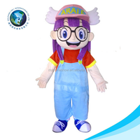 2015 NEW design large size despicable me minion mascot costume for adult