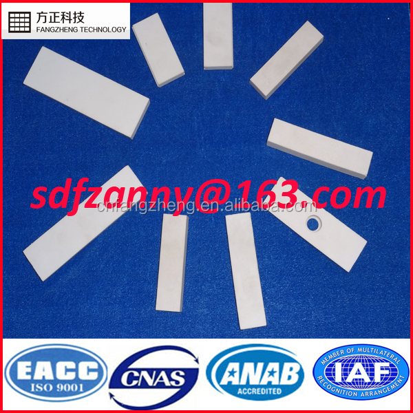 Professional manufacturer wear resistant microcrystal alumina ceramic plate for mud pump