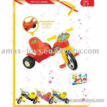 bt-0805-2 baby cart 3 wheel bicycle, mini Plastic tricycle for child,