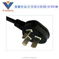 china supplier AC power cord computer power supply electrical plug