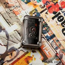 100% Original and Exclusive TR 100-300 Celsius degree Teslacigs Punk 220W Box Mod from Elego