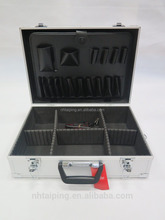 custom briefcase aluminum silver tool box