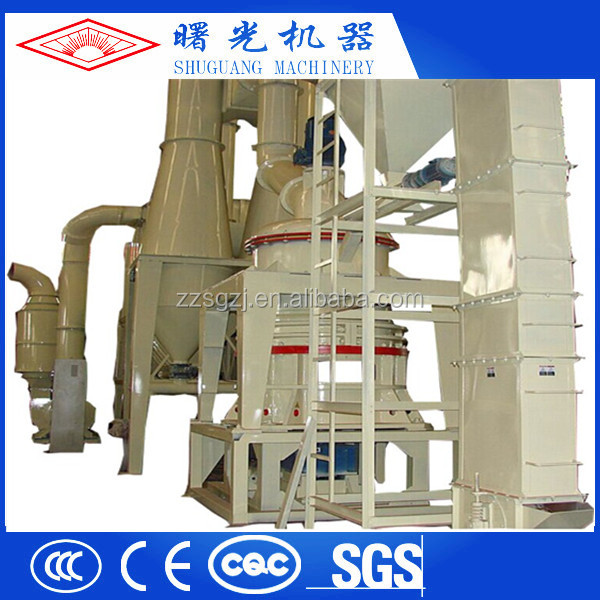 Shuguang Three-ring High Speed Micro Powder Grinding Mill