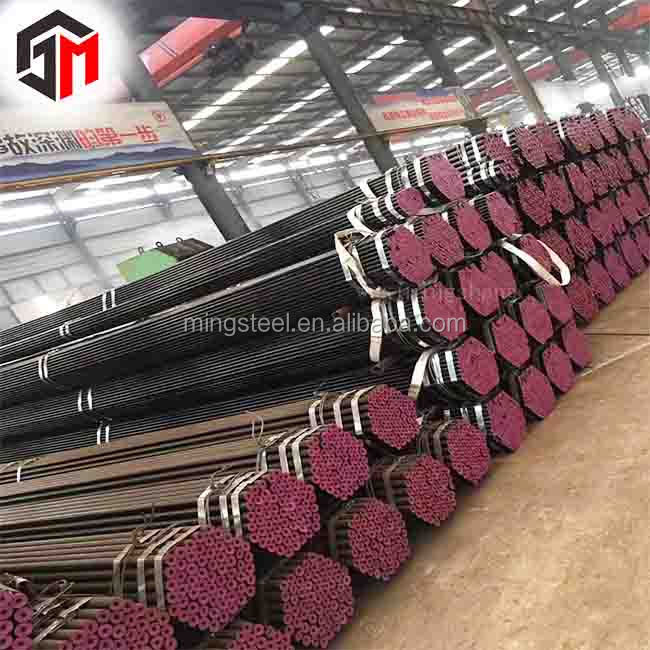 Good quality PSL1/PSL2 ASTM A53/A106 hot rolled carbon steel seamless steel pipe