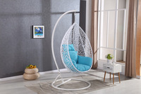 Elegant design kids playground baby swing hanging egg chair