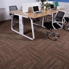 Oriental Designed Nylon Cube Carpet Tiles