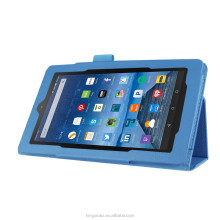 wholesale leather shock proof tablet case for Amazon Kindle Fire 7